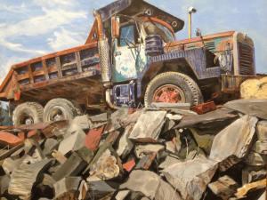 """Slate Truck"" by Chrissey Dittus"